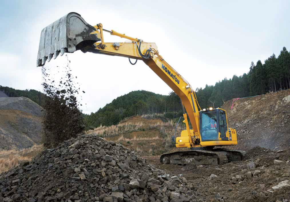 En evento virtual Komatsu lanza en Paraguay la nueva versión de su excavadora hidráulica ícono de la industria