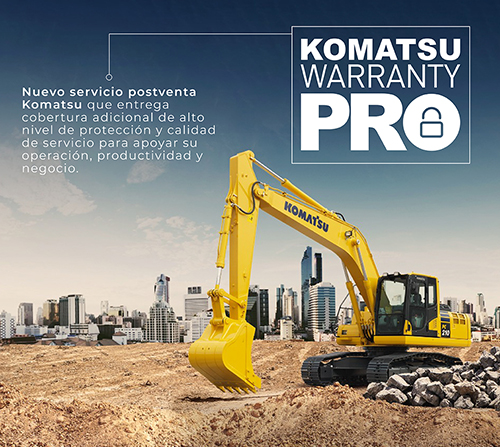 Komatsu Warranty Pro: ¿Sabías que…?
