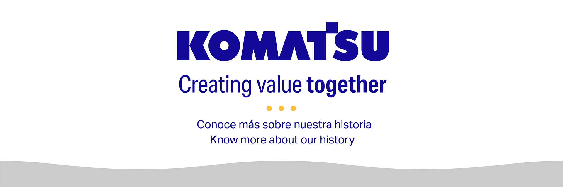 Komatsu inicia las actividades conmemorativas del 100º aniversario
