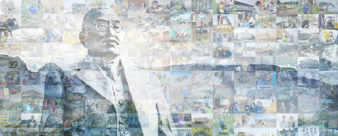 ¡Felices 100 años Komatsu!